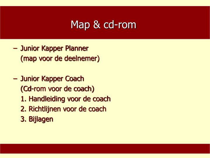 Map & cd-rom