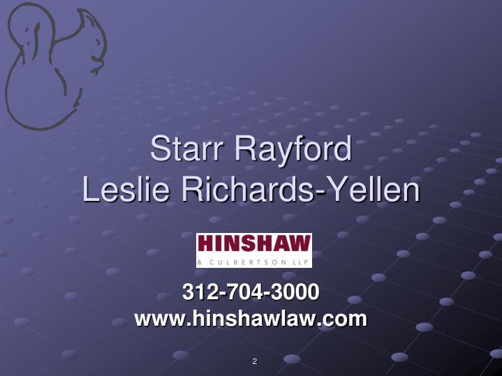Starr Rayford