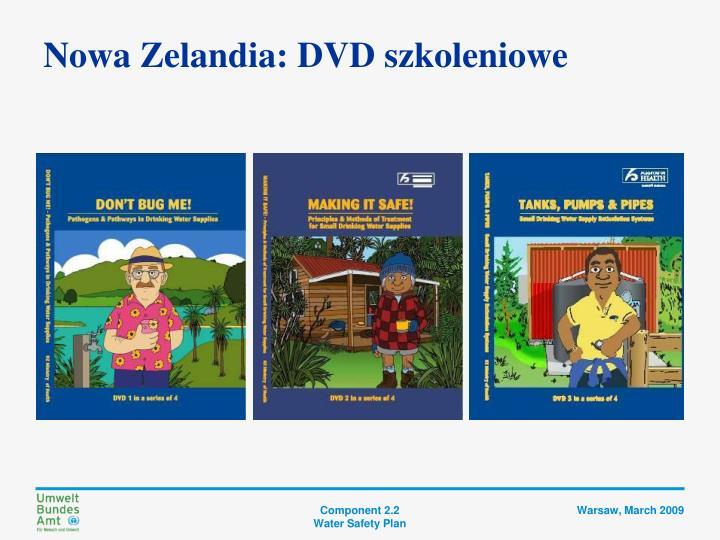 Nowa Zelandia: DVD szkoleniowe