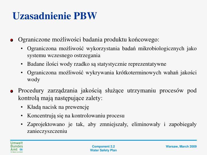 Uzasadnienie PBW