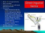 direct inguinal hernia