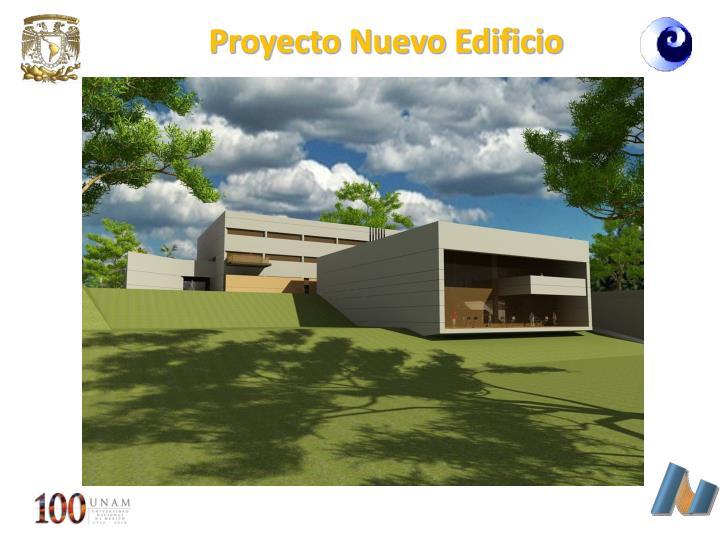 Proyecto Nuevo Edificio