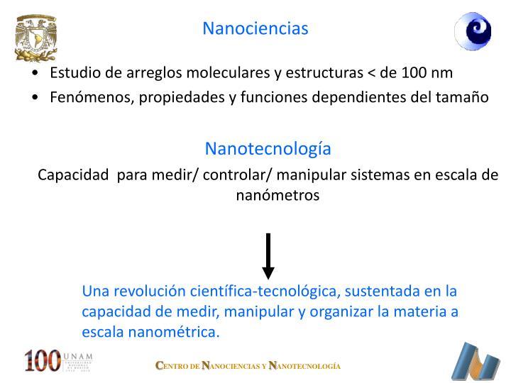 Nanociencias