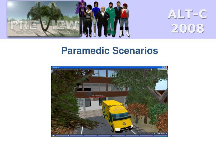Paramedic Scenarios