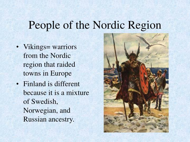 People of the Nordic Region