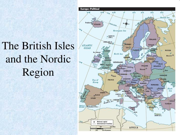 The British Isles and the Nordic Region