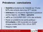 pr valence conclusions