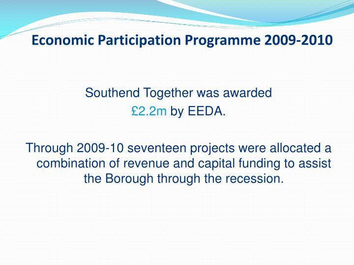 Economic Participation Programme 2009-2010
