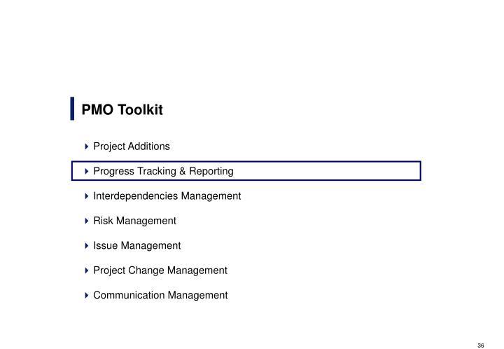 PMO Toolkit