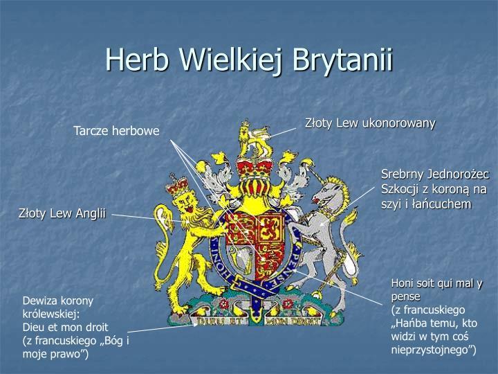 Herb Wielkiej Brytanii