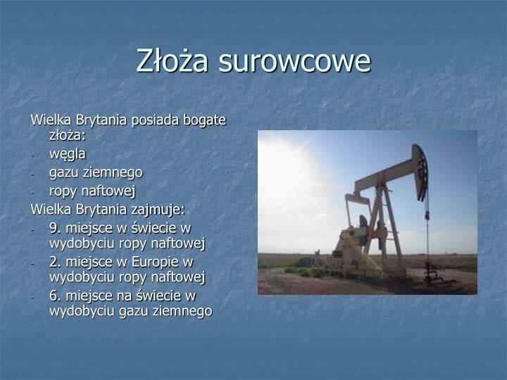 Zoa surowcowe