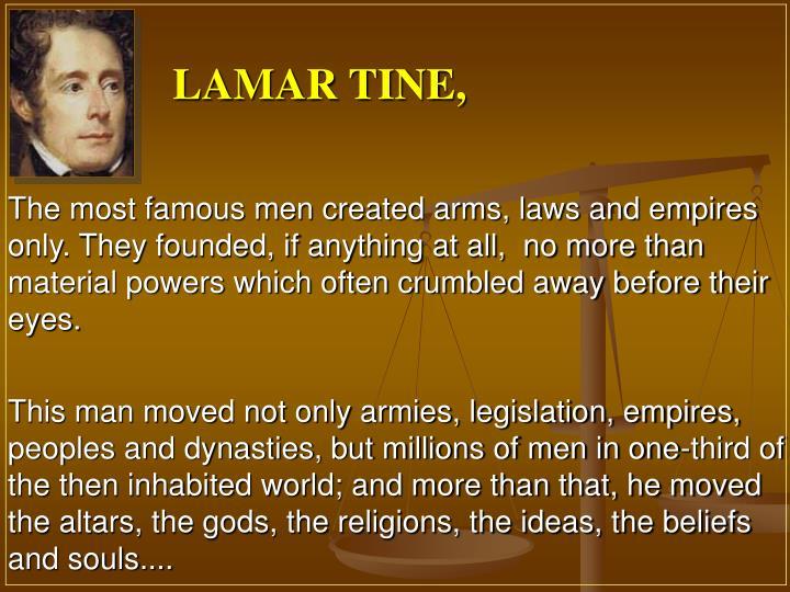 LAMAR TINE,