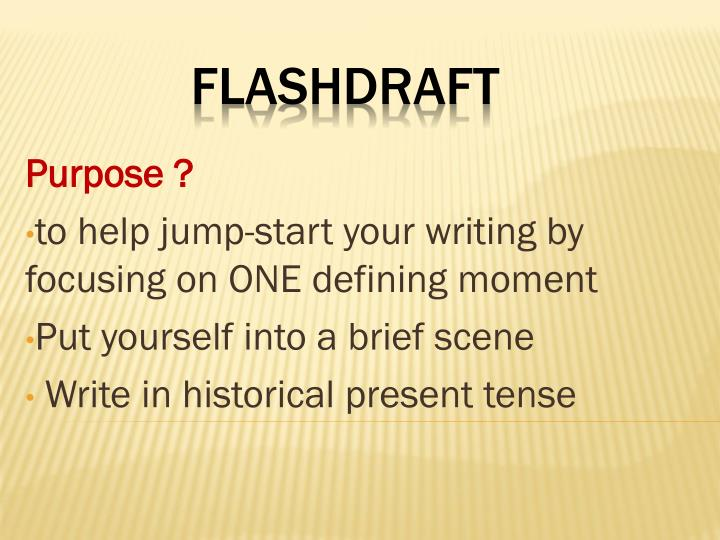 Flashdraft