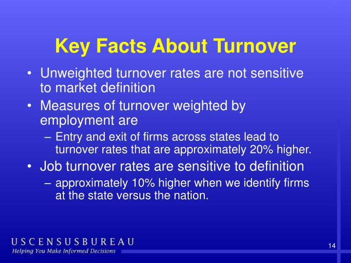 Key Facts About Turnover