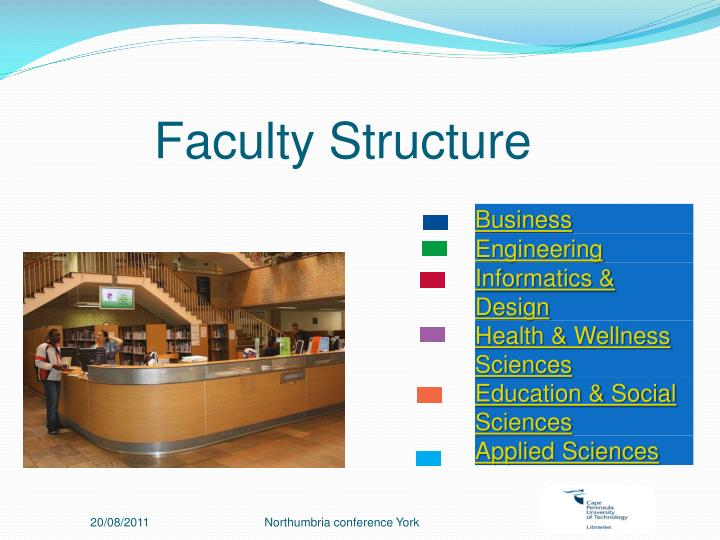 Faculty Structure