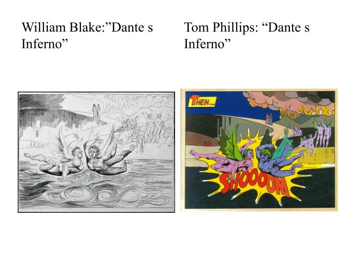 "William Blake:""Dante s Inferno"""