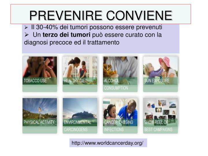 PREVENIRE CONVIENE