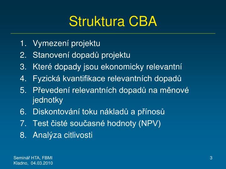 Struktura CBA