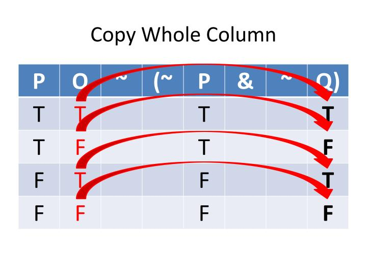 Copy Whole Column