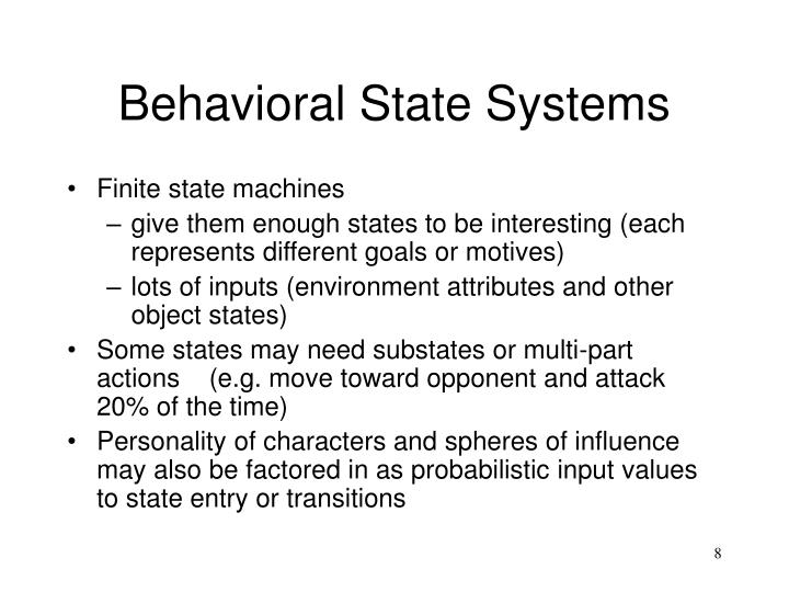 Behavioral State Systems