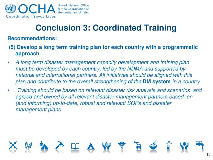 Conclusion 3: Coordinated Training