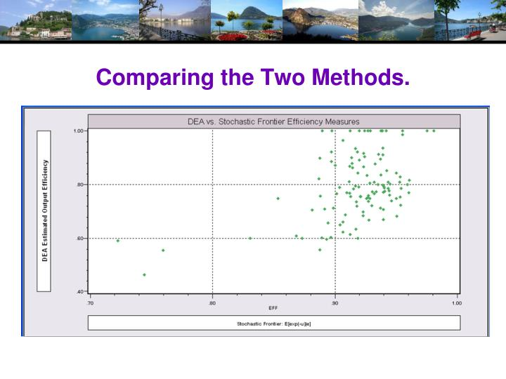 Comparing the Two Methods.