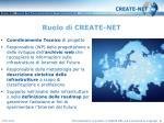 ruolo di create net