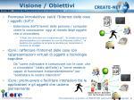 visione obiettivi