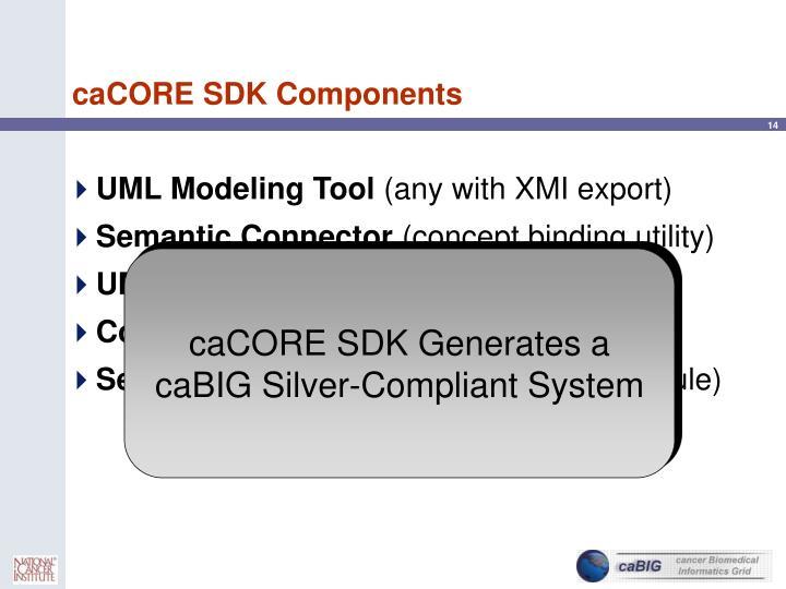 caCORE SDK Components