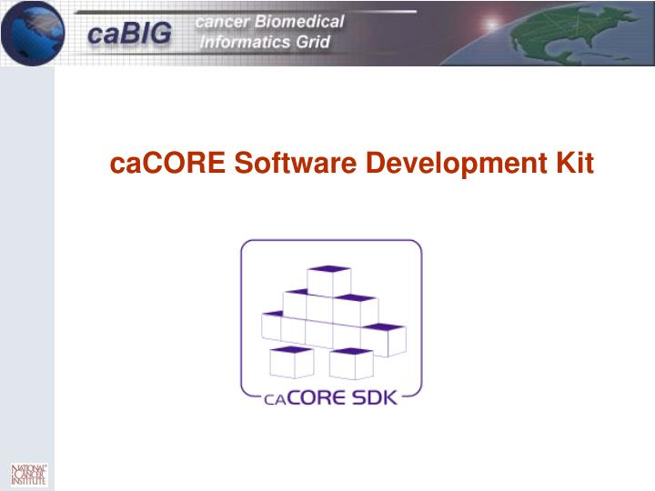 caCORE Software Development Kit