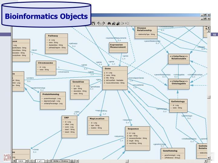 Bioinformatics Objects