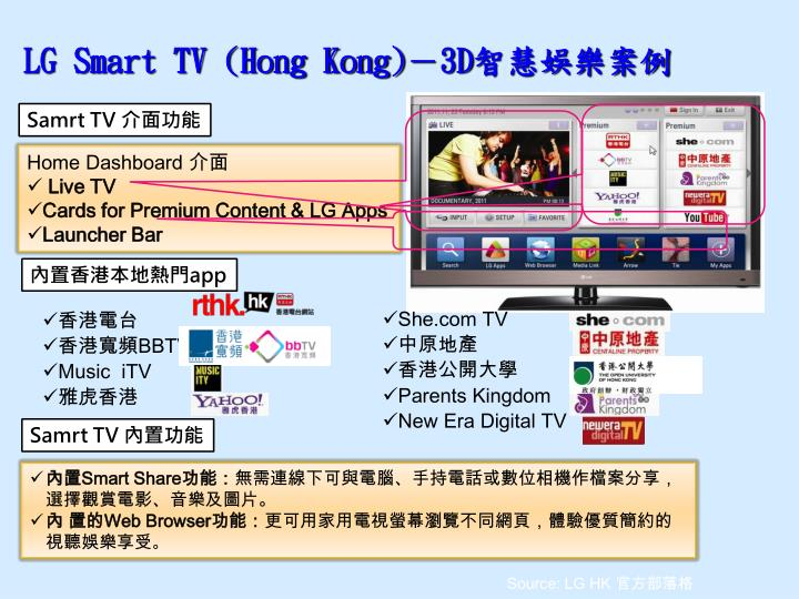 LG Smart TV (Hong Kong)