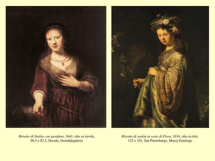 Ritratto di Saskia con garofano