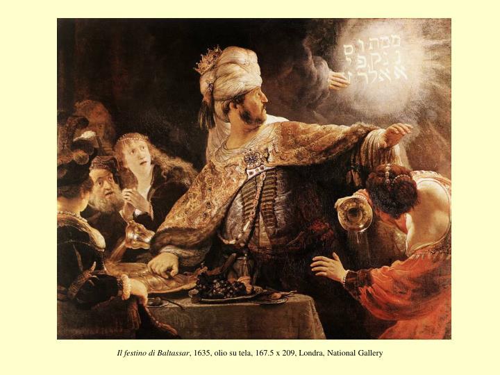 Il festino di Baltassar