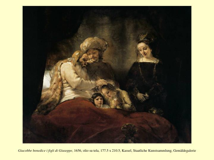 Giacobbe benedice i figli di Giuseppe