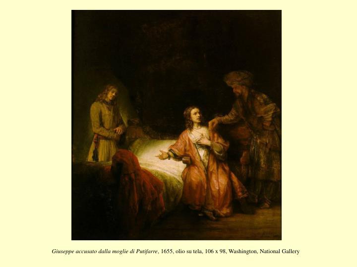 Giuseppe accusato dalla moglie di Putifarre