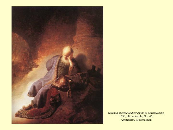 Geremia prevede la distruzione di Gerusalemme