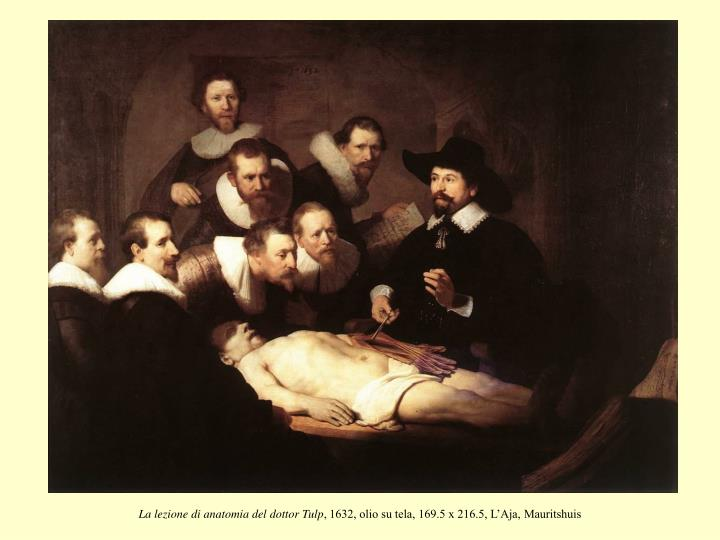 La lezione di anatomia del dottor Tulp