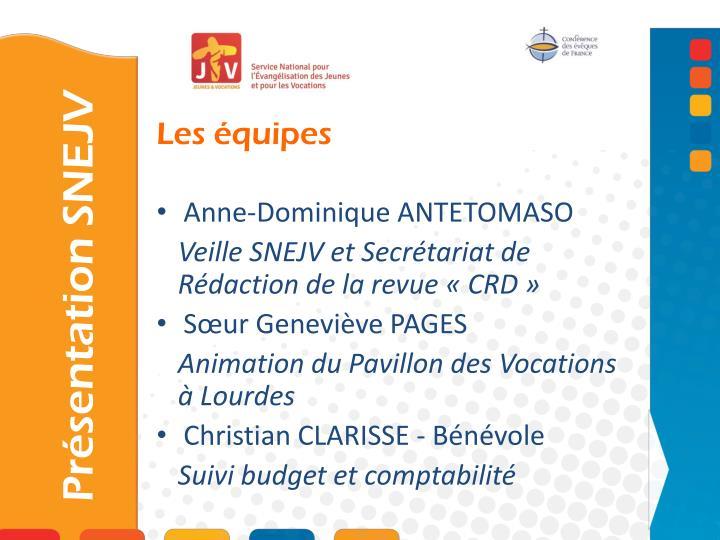 Anne-Dominique ANTETOMASO
