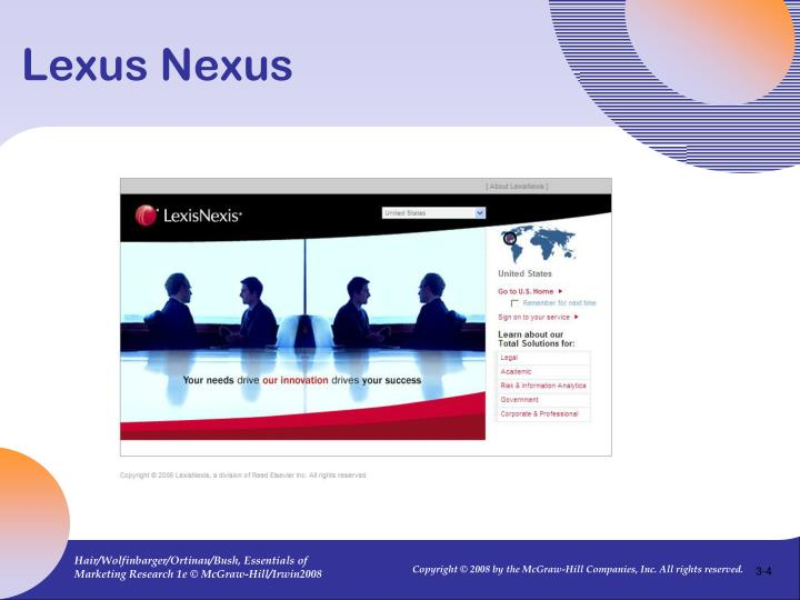 Lexus Nexus
