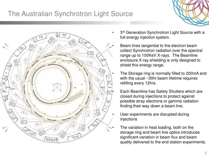 The Australian Synchrotron Light Source