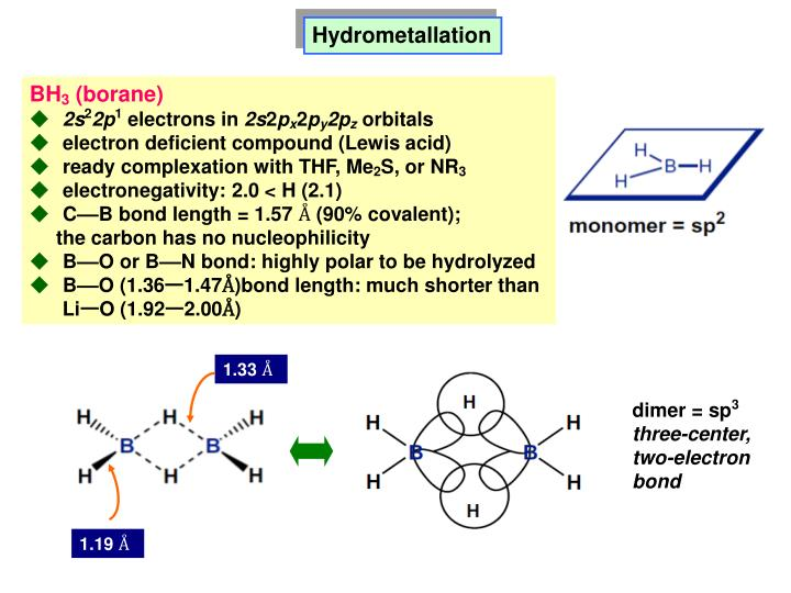Hydrometallation