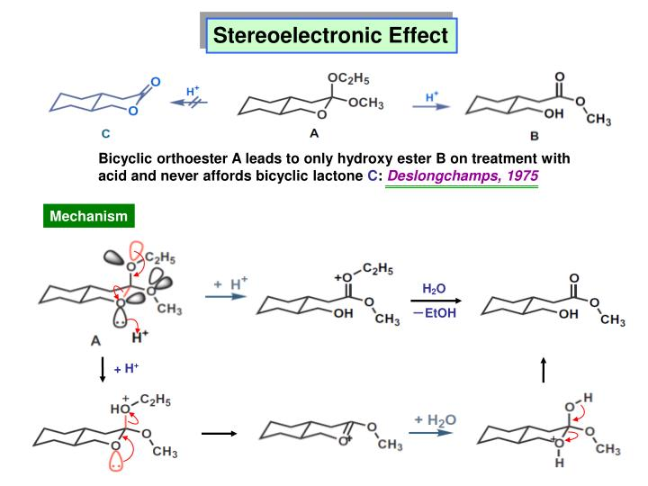 Stereoelectronic Effect