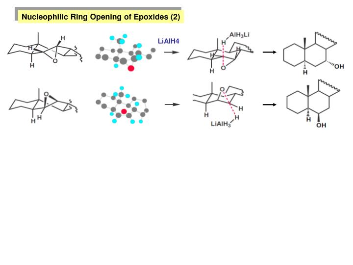Nucleophilic Ring Opening of Epoxides (2)