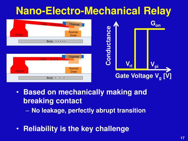 Nano-Electro-Mechanical Relay