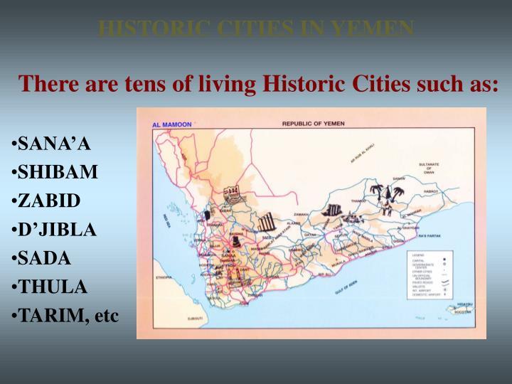 HISTORIC CITIES IN YEMEN