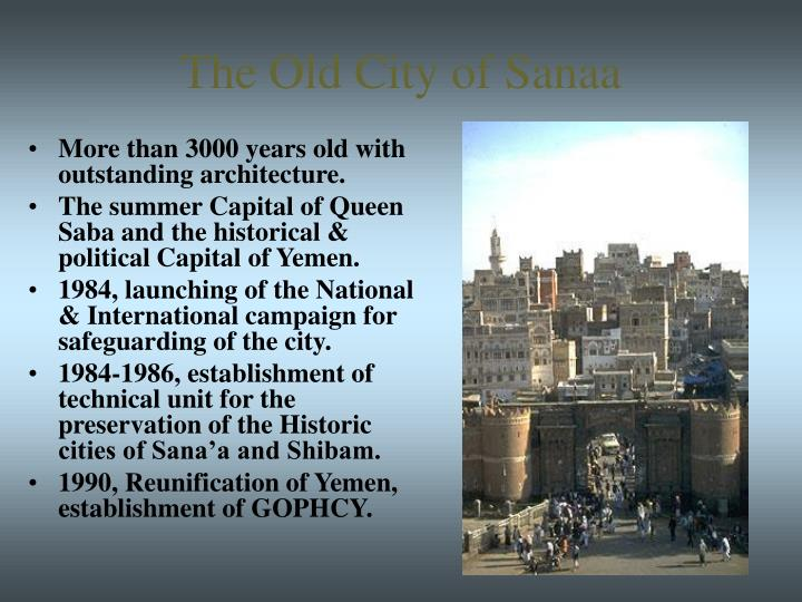 The Old City of Sanaa