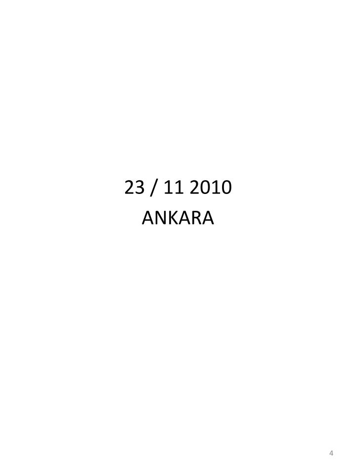 23 / 11 2010