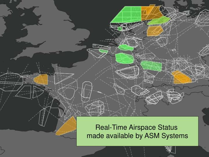 Real-Time Airspace Status