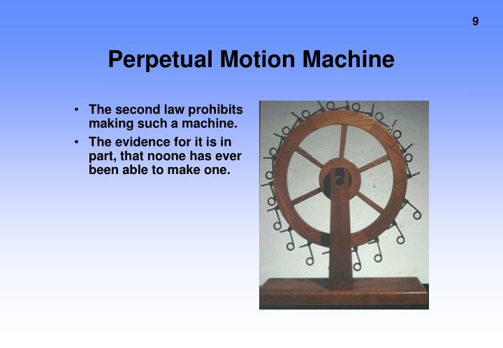Perpetual Motion Machine